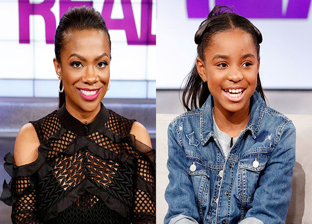 SANIYYA SIDNEY SITS DOWN WITH THE LADIES OF 'THE REAL' INCLUDING GUEST HOST KANDI BURRUSS