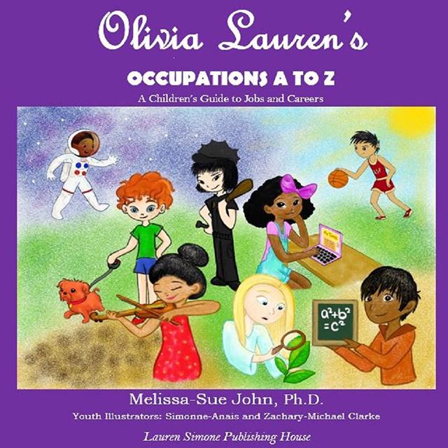 NINE-YEAR-OLD ACTRESS/MODEL, OLIVIA LAUREN, PENS CHILDREN'S BOOK