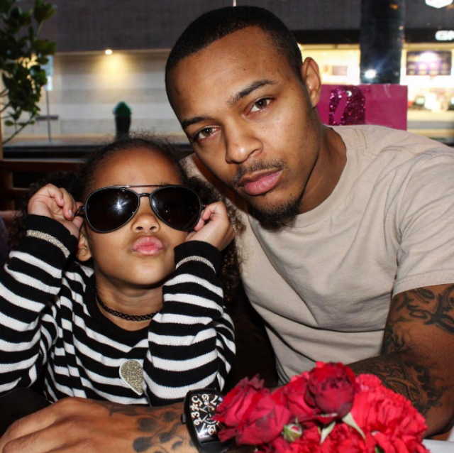 Bow Wow Shai S Daddy Daughter Dance Goes Viral Video: SHAD MOSS SPENDS THE NIGHT WITH HIS LITTLE VALENTINE