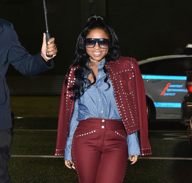 REGINAE CARTER IS ALL IN FOR NEW YORK FASHION WEEK