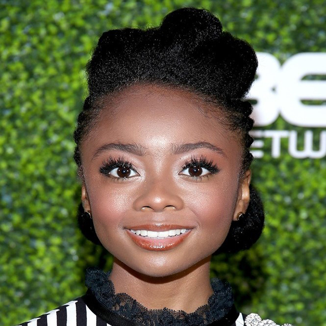 SKAI JACKSON ATTENDS PRE ABFF HONORS COCKTAIL PARTY AT CECCONI'S IN HOLLYWOOD