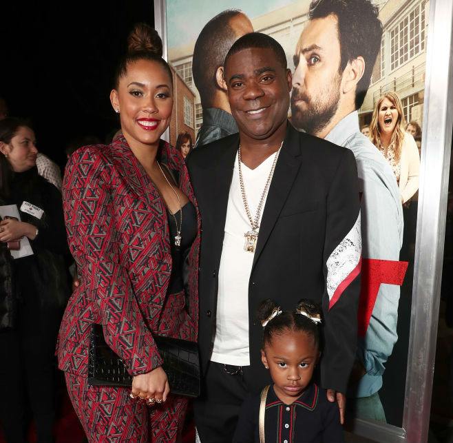 Tracy Morgan And The Family Attend Fist Fight Premiere