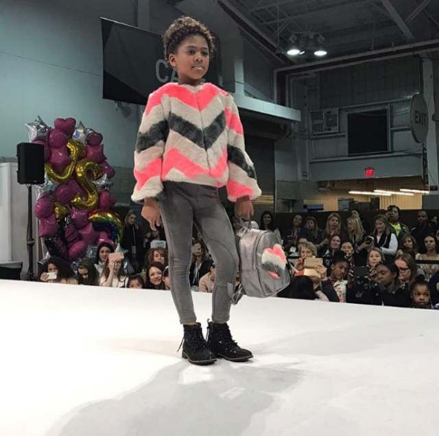 CALI DREAM HITS THE RUNWAY AT PETITE PARADE FASHION SHOW