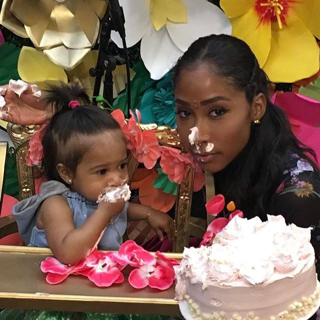 omarion and apryl jones celebrate daughters first birthday