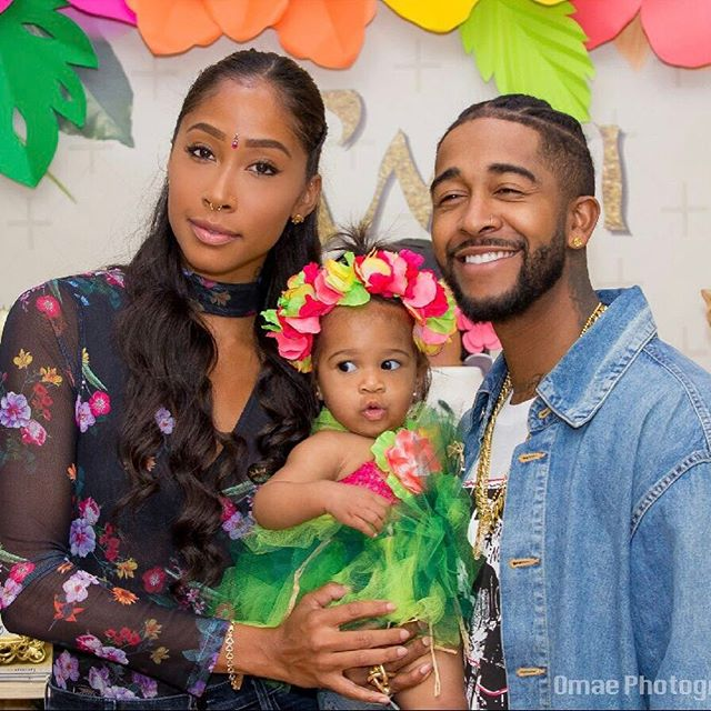 OMARION AND APRYL JONES CELEBRATE DAUGHTER'S FIRST BIRTHDAY