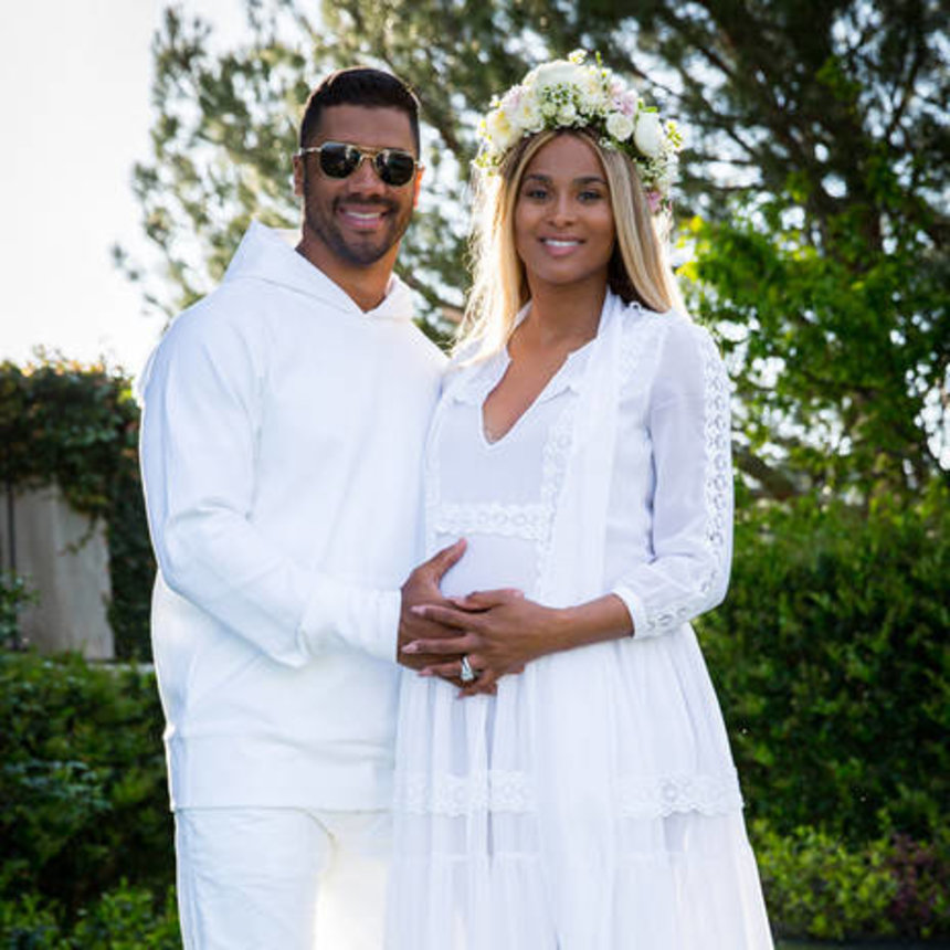 Delightful Ciara And Russell Wilson Celebrated The Impending Arrival Of Their First  Child With A Party Filled With The Best Decor.