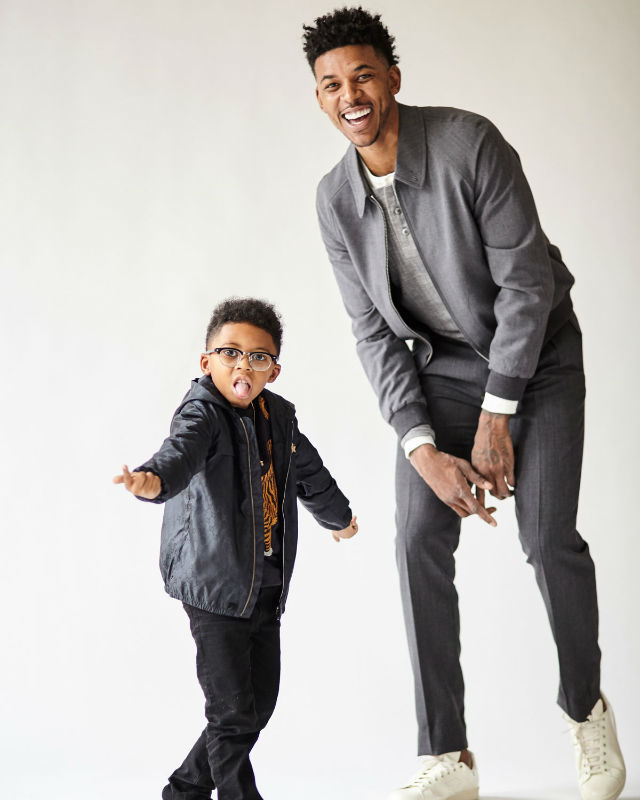NICK YOUNG AND SON MODEL FOR GQ AND NEIMAN MARCUS 'BEST ...