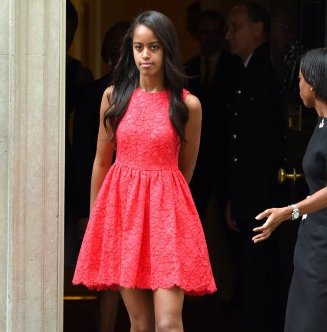 MALIA OBAMA TURNS DOWN MULTIPLE MODELING OFFERS