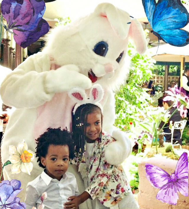 """Beyonce shared more pictures from her and the family's Easter gathering over the weekend and all that we can say is, """"Oh baby!"""""""