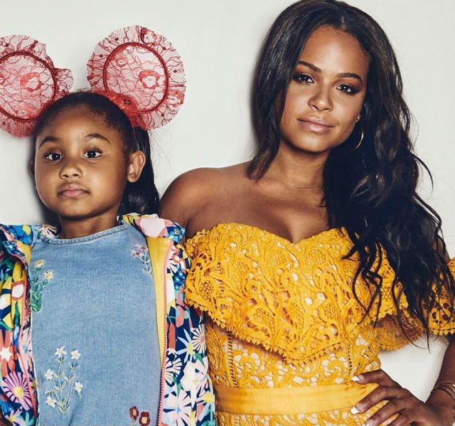 CHRISTINA MILIAN AND DAUGHTER GIVE US A SNEAK PEEK AT NEW PHOTO SHOOT