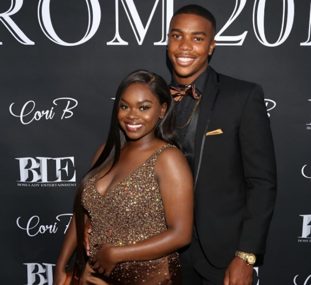 CORI BROADUS HAD AN EPIC PROM NIGHT