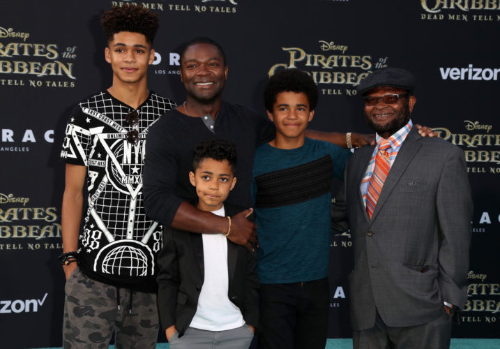 DAVID OYELOWO, TICHINA ARNOLD, AND OTHERS ATTEND 'PIRATES ...