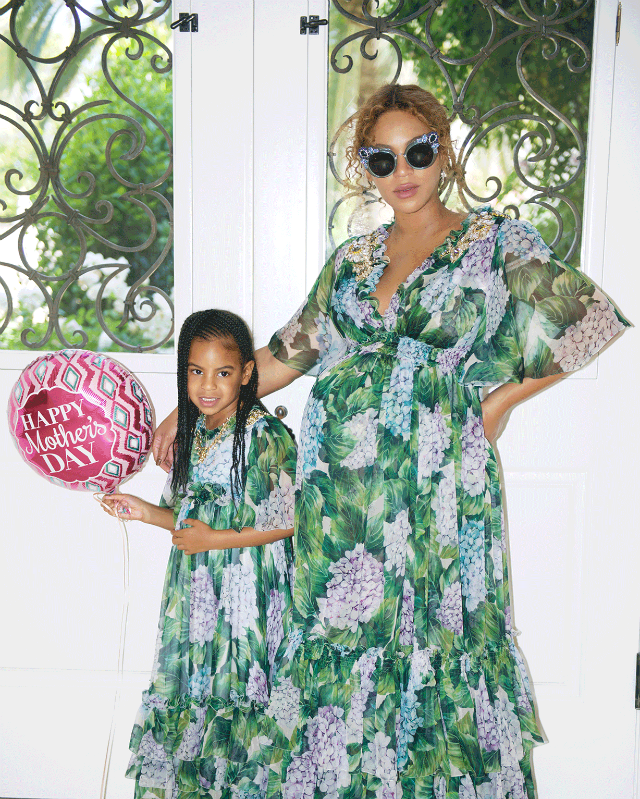 Pregnant singer Beyonce had an eventful Mother's with her husband Jay Z and her daughter Blue Ivy. The family enjoyed a fun day at the Museum of Ice Cream. Check out the photos in the gallery.