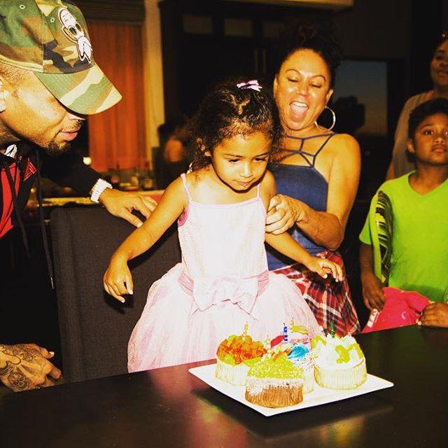 Chris Brown Celebrates Daughters 3rd Birthday