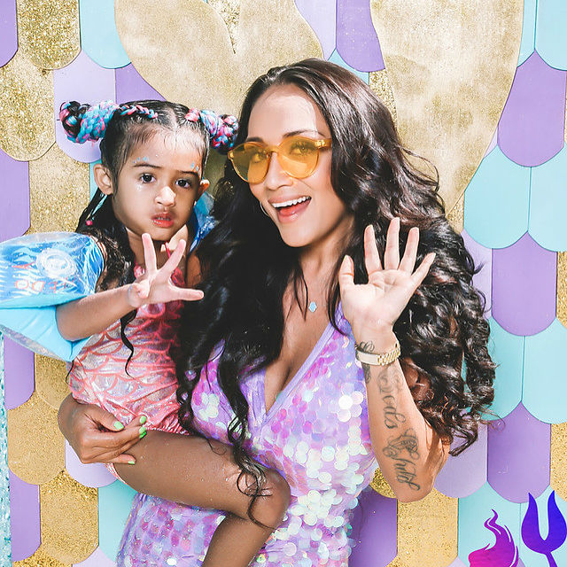 Nia Guzman went all out for her daughter, Royalty Brown's birthday party earlier this week. The event was a mermaid-themed bash with decorations and costumes that fit the occasion.