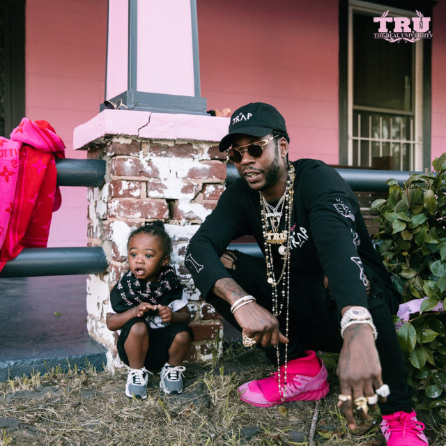 2 Chainz will be releasing his new album, Pretty Girls Like Trap Music, on Friday, June 16, via Def Jam Records. In the meantime, we have some pretty adorable pictures of the rapper's son, Halo, promoting his forthcoming project.