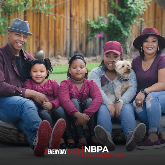 CARON BUTLER IS AN 'EVERYDAY DAD'