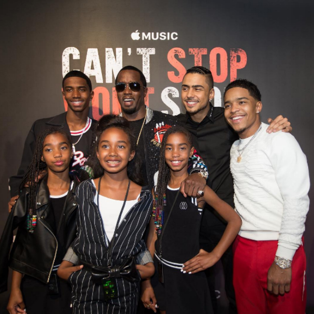 SEAN 'DIDDY' COMBS SAYS HAVING TWINS IS 'DOUBLE THE LOVE'