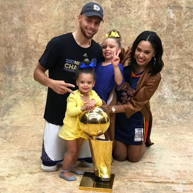 RILEY CURRY IS THE REAL MVP, ONCE AGAIN