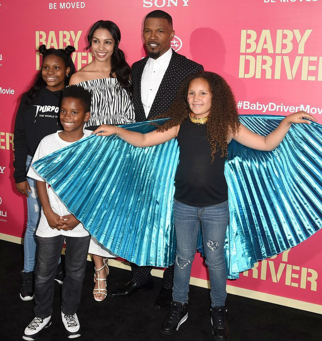 JAMIE FOXX SAYS HIS YOUNGEST DAUGHTER LOVES THE SPOTLIGHT