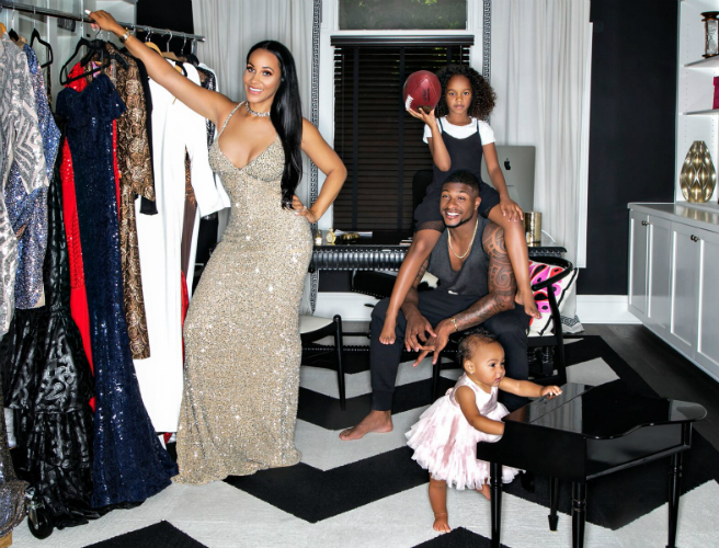 EXCLUSIVE: CELEBRITY STYLIST ASHLEY NORTH DISHES ON LIFE AS A WORKING MOM AND FIANCEE OF NFL STAR DASHON GOLDSON
