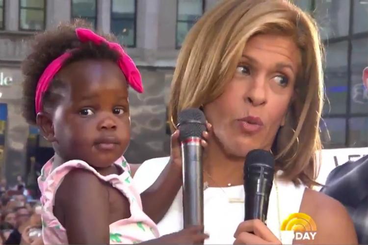 'HODA RUINED HER!' THOMAS RHETT TALKS ADOPTION AND BABY ... North West Baby Vogue