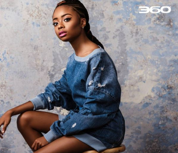 SKAI JACKSON TAKES DENIM TO NEW HEIGHTS IN CURRENT ISSUE ...