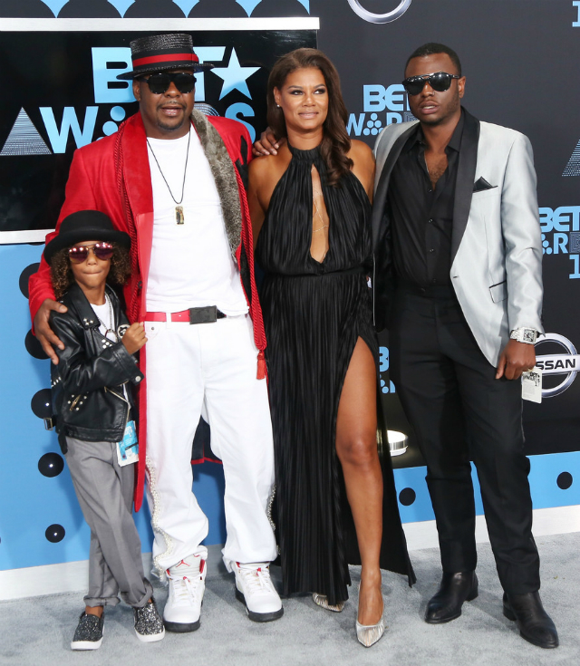STARS AND THEIR KIDS COME OUT FOR THE 2017 BET AWARDS