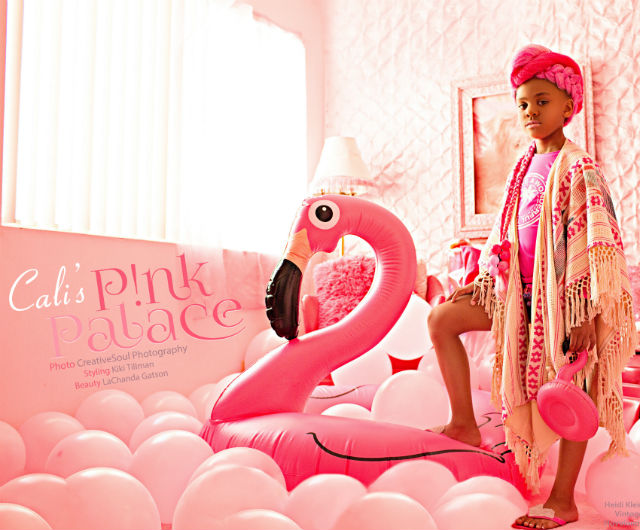 CALI DREAM WANTS YOU TO SEE HER PINK PALACE
