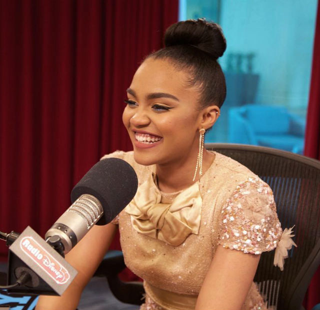 china anne mcclain takes over the radio disney today with new song for  u0026 39 descendants 2 u0026 39