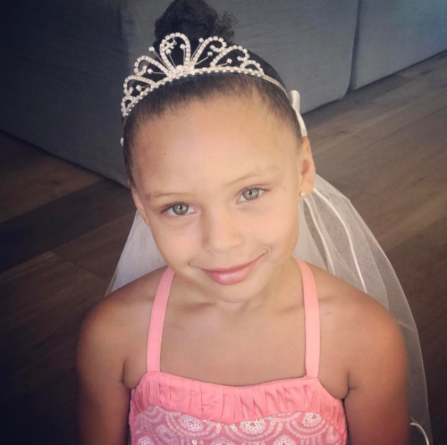 Riley Curry Celebrates Birthday With A Unicorn Themed Party