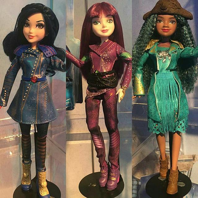 Descendants 2 Characters Mal Evie And Uma Dolls