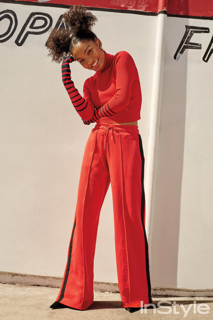 Yara Shahidi Slays In Instyle Fashion Shoot