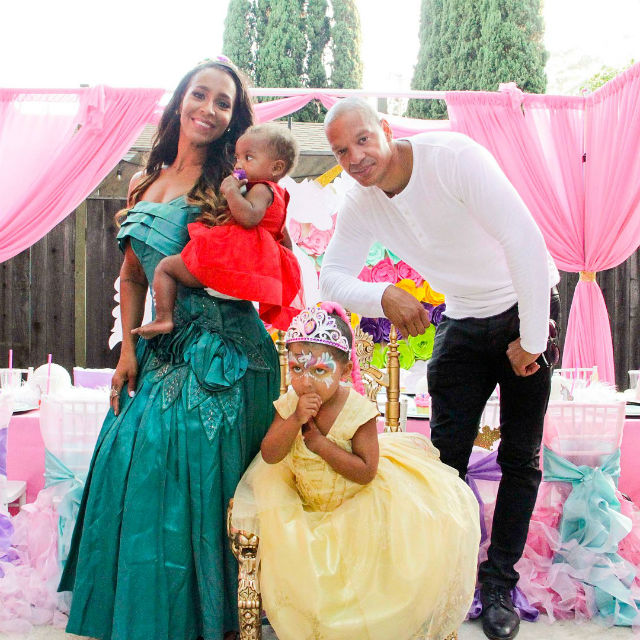AMINA BUDDAFLY AND PETER GUNZ THROW THEIR DAUGHTER A ...