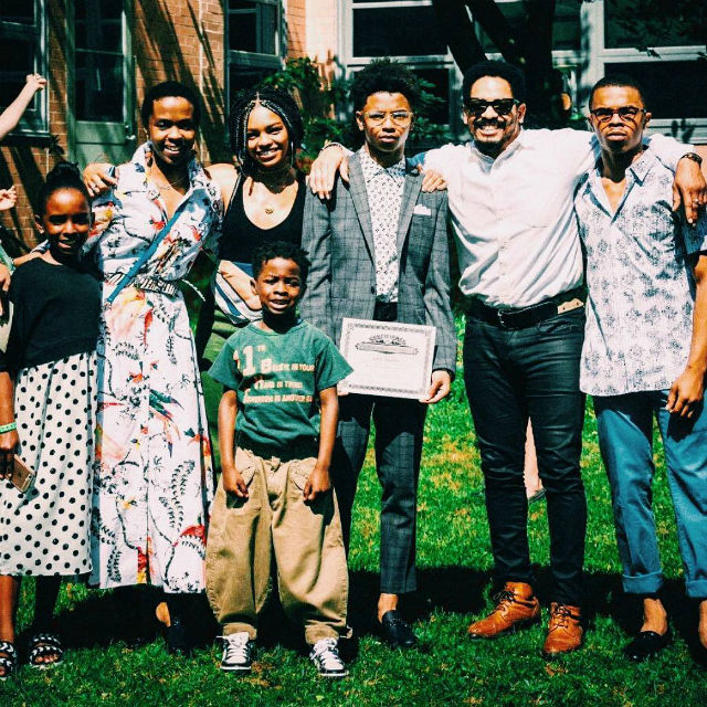 lauryn hill and rohan marley are enjoying life as parents