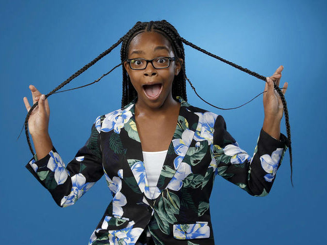 MARSAI MARTIN SITS DOWN WITH THE 'LA TIMES' TO TALK ACTING, AUDITIONING, AND MORE