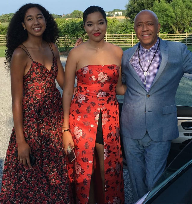 RUSSELL SIMMONS AND HIS DAUGHTERS HOST ANNUAL 'ART FOR ...
