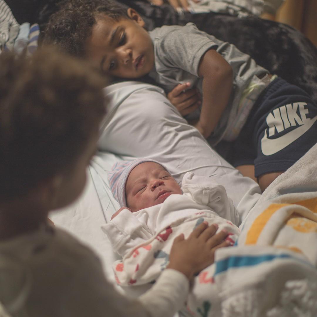 Antonio Brown Welcomes Son