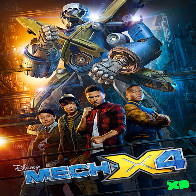 "'MECH-X4 - Disney XD has greenlit a second season of its live-action sci-fi adventure series ""MECH-X4"" ahead of the series debut in two episodes simulcast SATURDAY, NOVEMBER 12 (8:00 p.m. EDT), on Disney Channel and Disney XD. (Disney XD)"