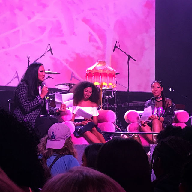 KIMORA LEE SIMMONS AND DAUGHTERS JOIN OTHERS AT GIRL CULT FESTIVAL