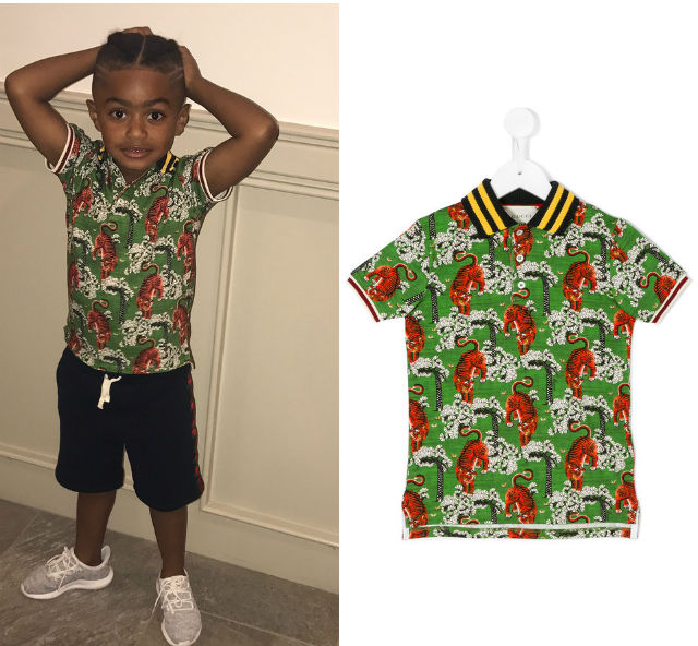 TRENDY TOT: PJ ROSE IS A GUCCI GUY