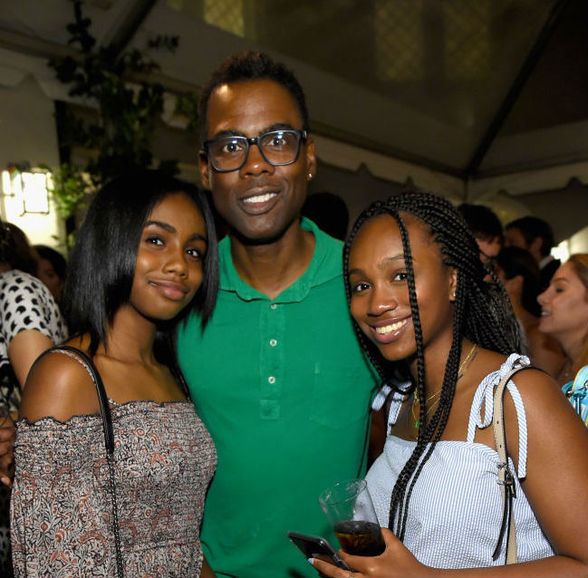 Image result for Chris Rock daughters