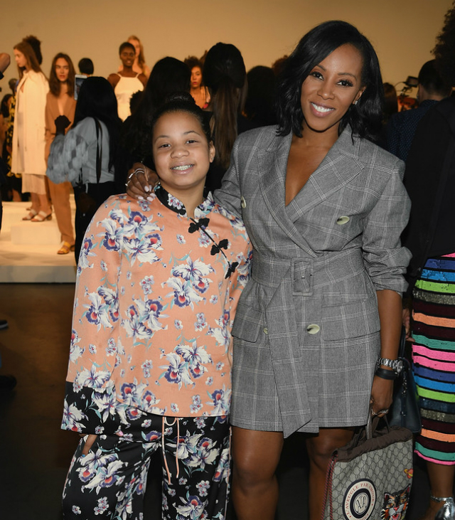 37e7d733c8c3 JUNE AMBROSE AND DAUGHTER TAKE ON NEW YORK FASHION WEEK