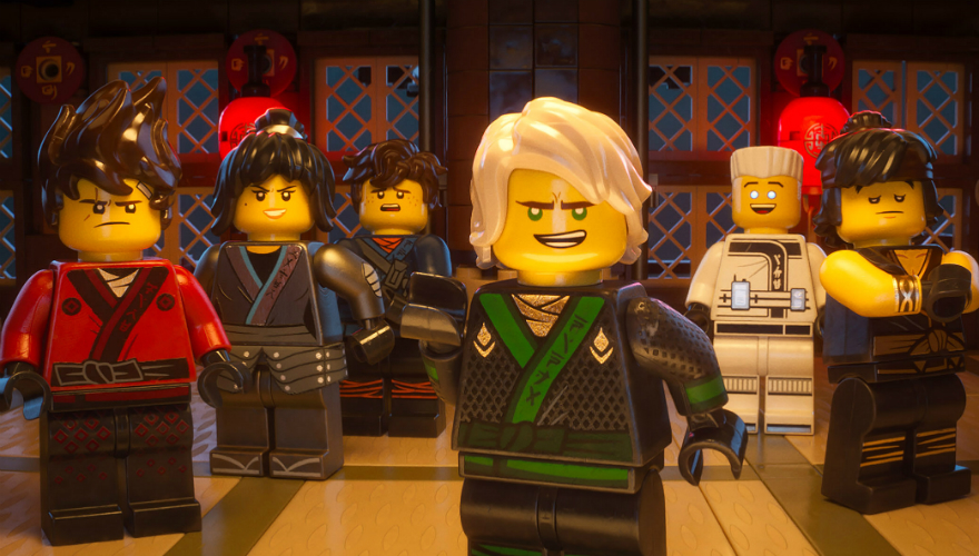 MOVIE WATCH: CHECK OUT 'L-LOYD' AND OTHERS IN 'THE LEGO NINJAGO MOVIE'