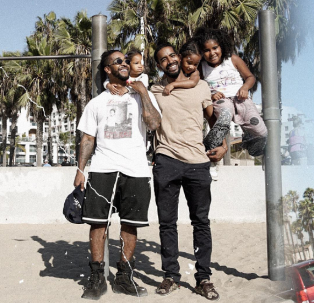 BROTHERS OMARION AND O'RYAN HAVE A FUN DAY WITH THEIR KIDS