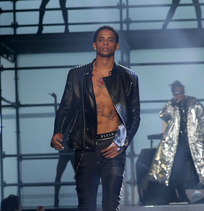 CORDELL BROADUS ROCKS THE RUNWAY DURING #NYFW FOR PHILIPP PLEIN, OPENING DOORS TO HIS FUTURE