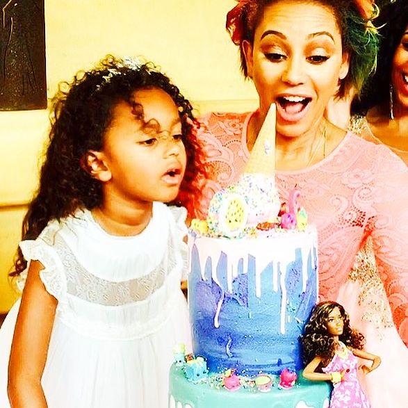 Mel B Celebrates Daughter Madisons 6th Birthday