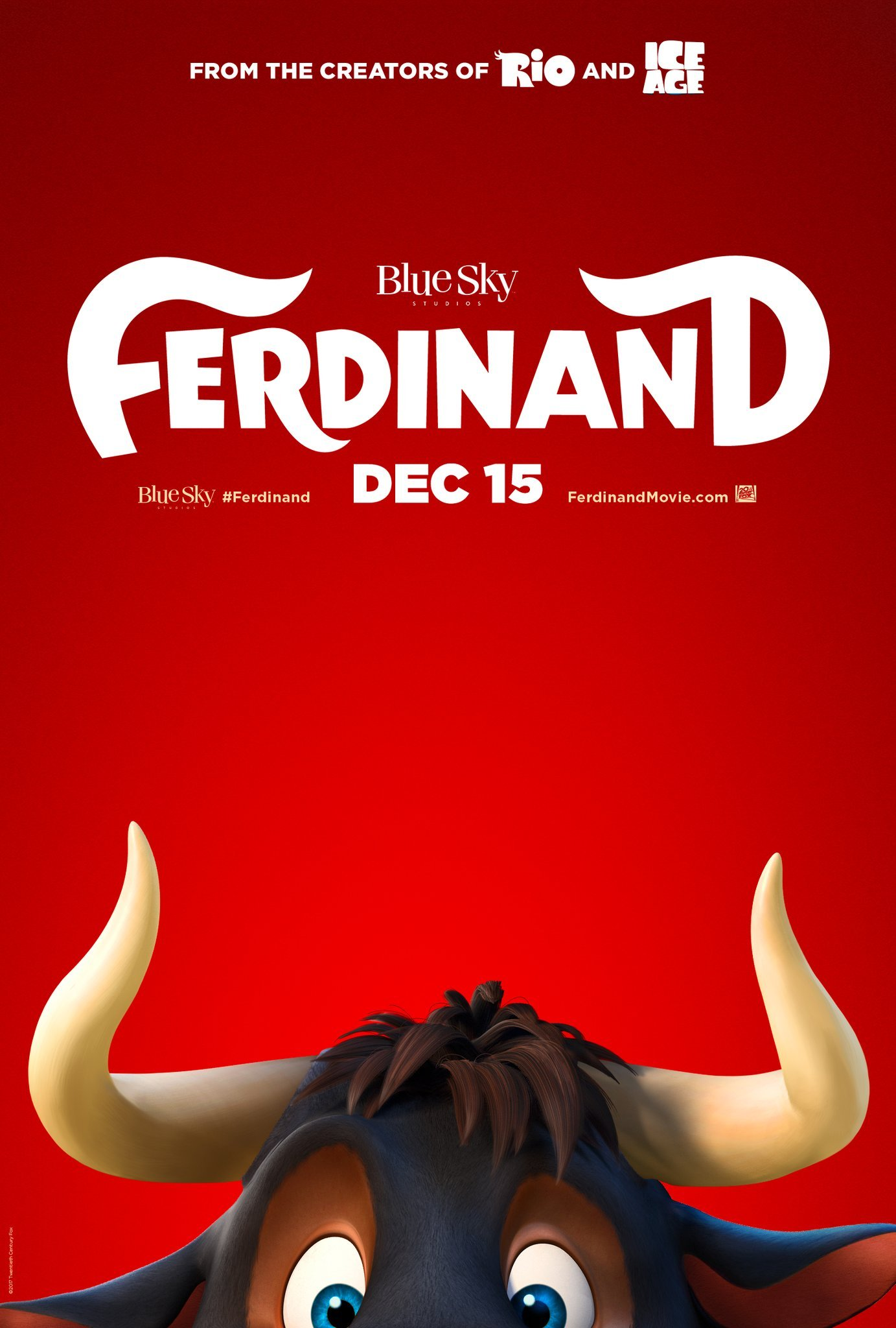 """FERDINAND"" HITS THEATERS IN TIME FOR THE HOLIDAYS"
