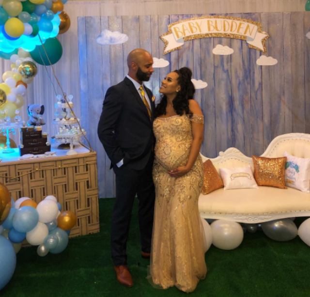 JOE BUDDEN AND CYN SANTANA TURN UP FOR THEIR BABY SHOWER