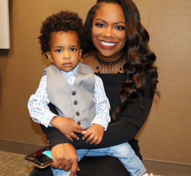 MOMMY AND ME: KANDI BURRUSS HAS THE SUPPORT OF HER FAVORITE LITTLE GUY